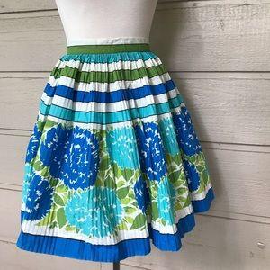 Vintage handmade 1960s mid century half apron